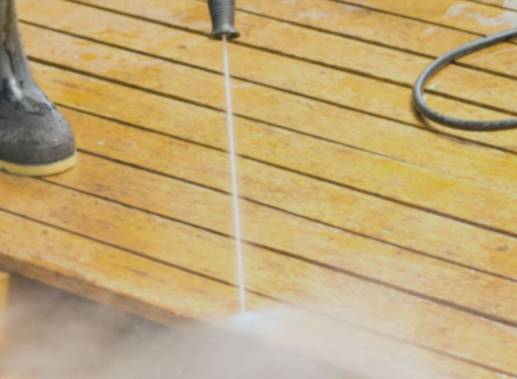 Deck or Porch Cleaning