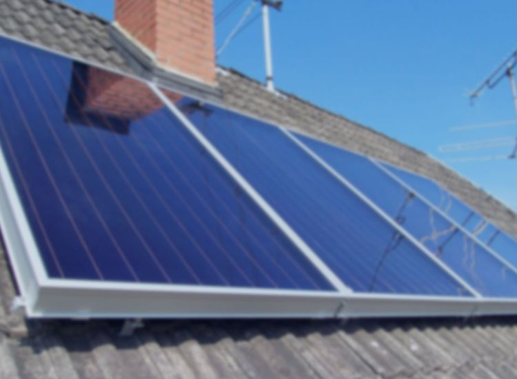 Solar Heating System Installation