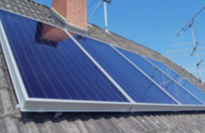 Solar Heating System Installation